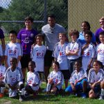 Julio Baptista Talks About Nutrition with Soccer for Success at Dover Shores