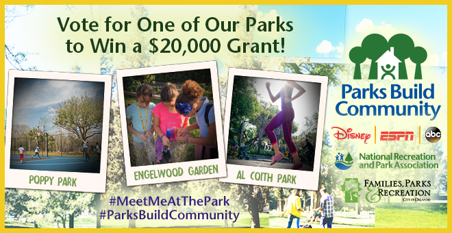 Vote to Help a City Park Receive $20,000 Upgrade
