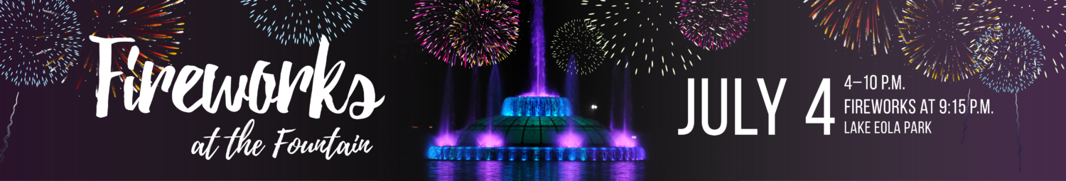 2018 Fireworks at the Fountain Website Slider Image